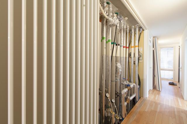 輻射式暖涼房システム(床・壁)