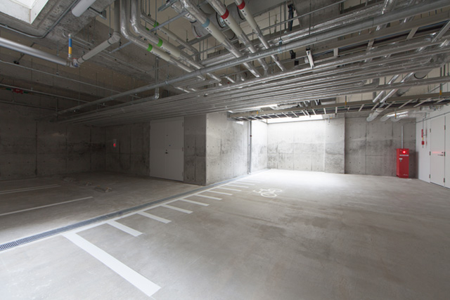 地下駐輪場(各戸2台)