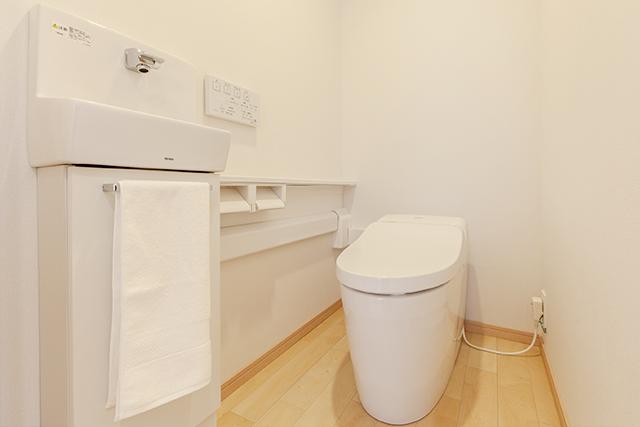 節水トイレ・温水洗浄便座