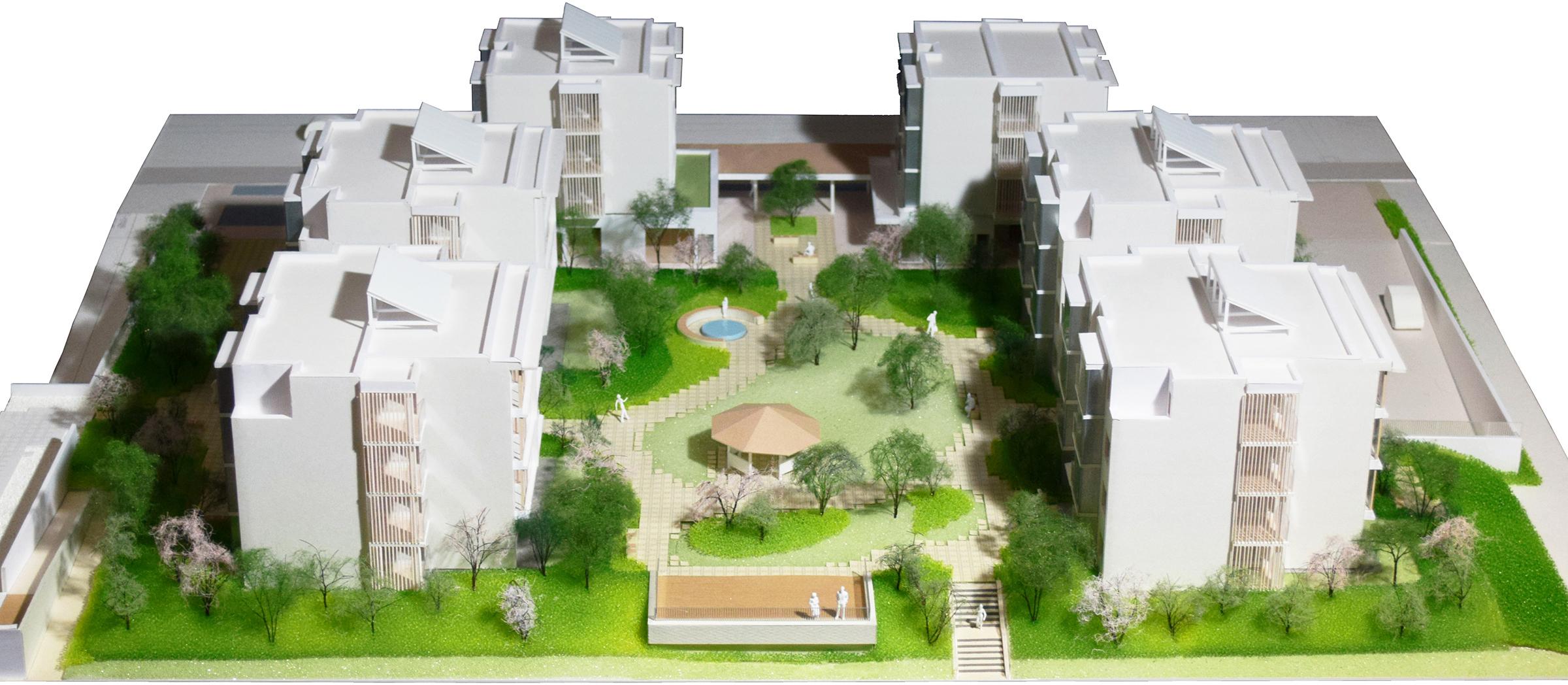 ランドスケープと建築の融合する住まい
