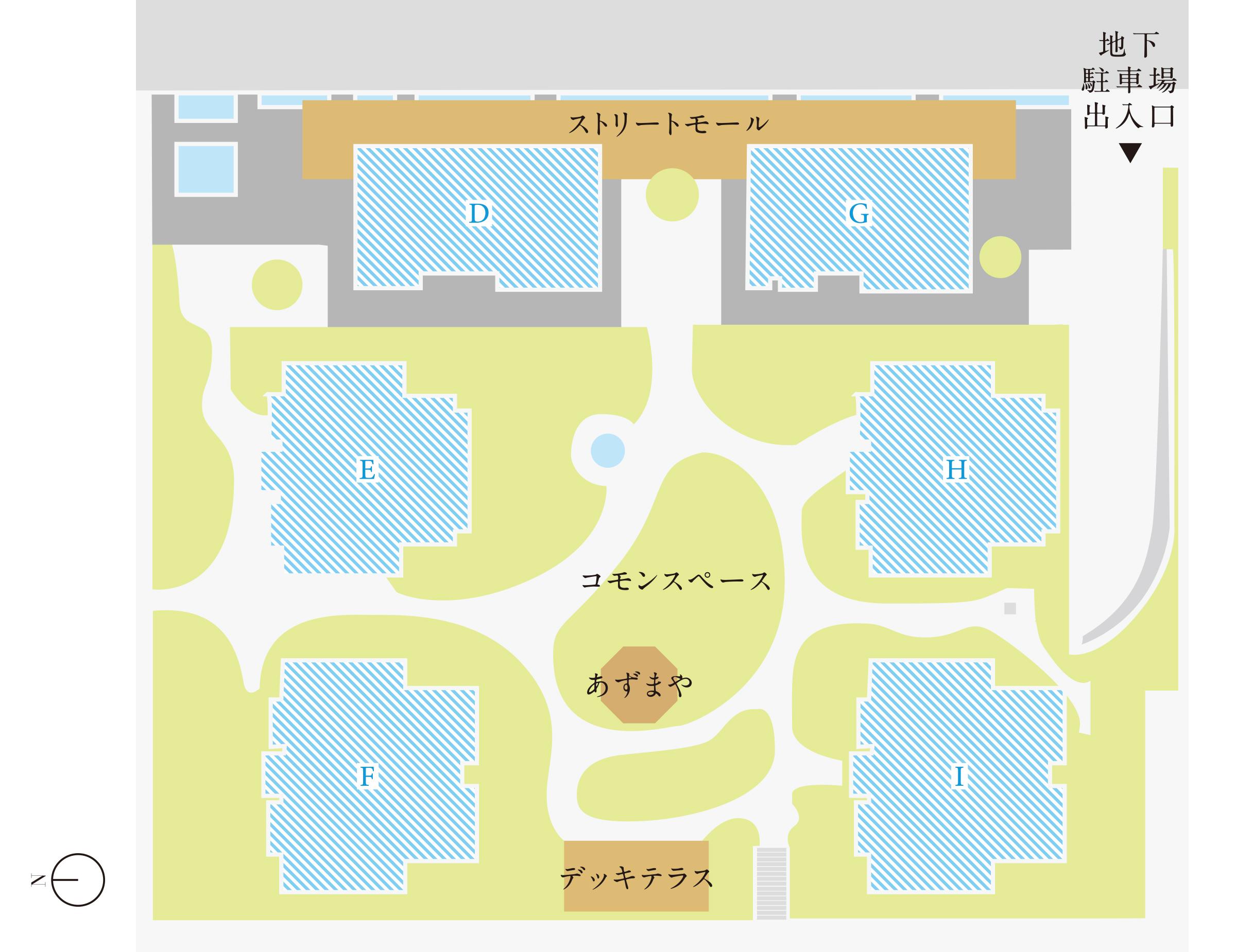 第2期街区内配置図