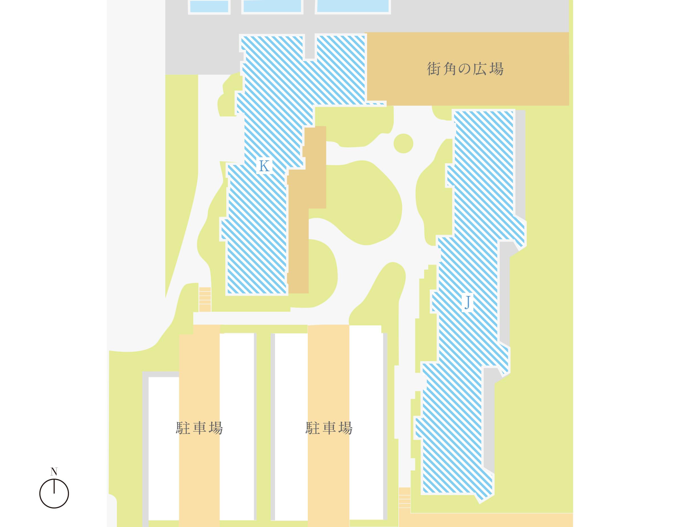 第3期街区内配置図